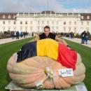 Belgian growing the biggest pumpkin ever: 1190 kg