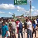 Civilian deaths after clash with army at border Venezuela