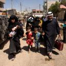 Half a million citizens fled from Mosul