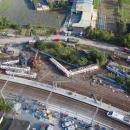Manufacturer discovers design fault at crash train