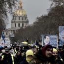 Tenth Saturday of protests 'yellow vests'