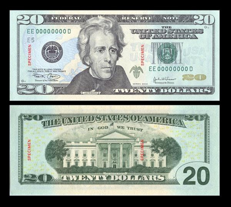 united states one dollar bill - 735×651