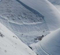 12-year-old after 40 minutes alive from avalanche