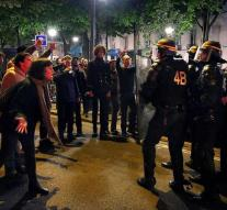141 people arrested at the Paris demonstration