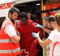 2300 migrants saved at sea once in a while