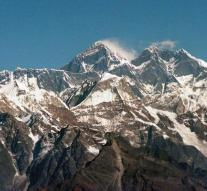 4 dead alpinists found at Mount Everest