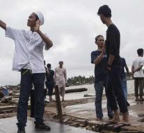 40,000 Indonesians displaced after tsunami