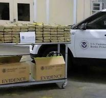 538 kilos of coke en route to the Netherlands intercepted by US customs