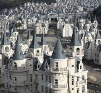 587 luxury castles form a ghost village after bankruptcy