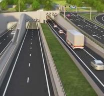 A2 Maastricht tunnel from December 16 open
