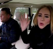 Adele and James most viewed on YouTube