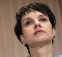 AfD party chairman Petry separates himself