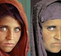 Afghan 'girl with green eyes' arrested