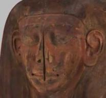 After 150 years it appears: mummy in forgotten and 'empty' coffin