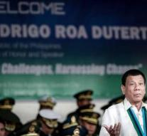 After drug Duterte grabs now gambling