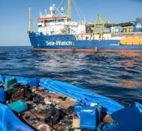 Agreement on the distribution of migrants Sea-Watch 3