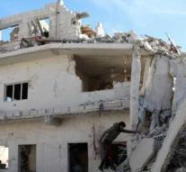 Air strikes in relatively calm southern Syria