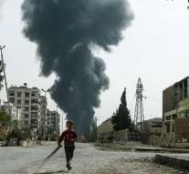 Air strikes on Douma: 27 dead