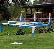 Amazon shows prototype delivery drone