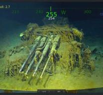 American wreck Second World War found