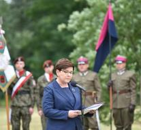 Angry reactions to Auschwitz speech Szydlo