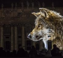 Animals occupy St. Peter's Basilica, Rome