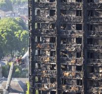 Another 65 missing after flat fire London