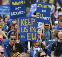Anti-brexit protest in London