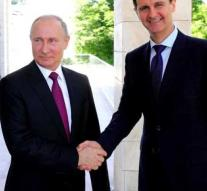 Assad condolences Putin after knocking down plane