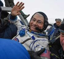 Astronauts ISS safely back on earth