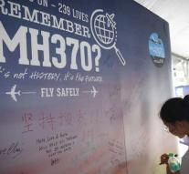 At the end of July, report disappearance MH370