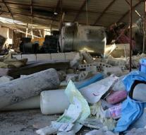 Attacks threaten healthcare Syria