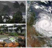 Australia's largest evacuation for Hurricane Debbie