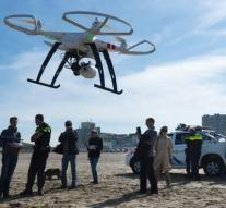 Auxiliary services are working more closely with drones