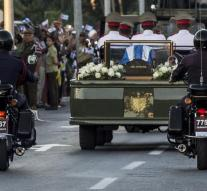 Axis of Fidel Castro was buried