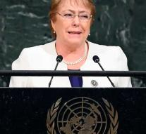 Bachelet new human rights chief UN