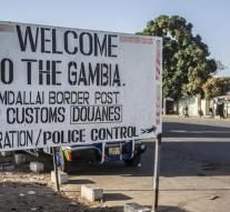began military intervention in Gambia