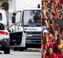 Belgium foiled attack on fans