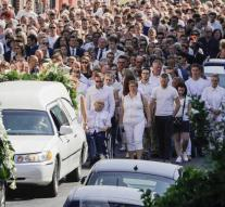 Belgium says farewell to killed agents