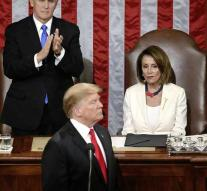 Big contrast in State of the Union Trump