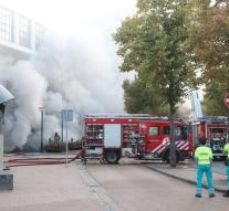 Big fire at casino in Groningen