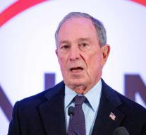 Bloomberg: campaign against re-election Trump