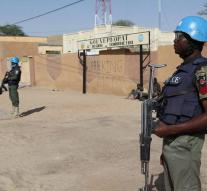 Blue Helmets Mali found 2000 kilos of explosives