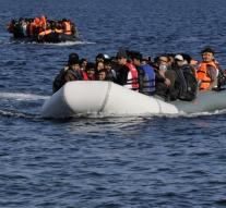 Boat people drowned in Turkey