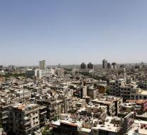 Bombing prepares for city Damascus