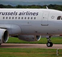 Both Airbus engines have a flight to Brussels