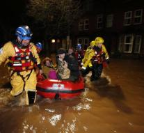Brits hit by floods