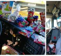 Bus driver buys gifts for 70 children: 'I always got two socks'