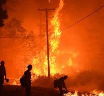 California continues to struggle with forest fires