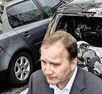 Cars burn in Sweden
